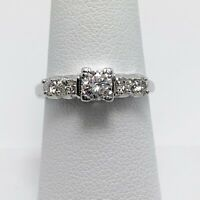 Vintage 1/2ctw Diamond 14k Gold Engagement Ring (5402D)