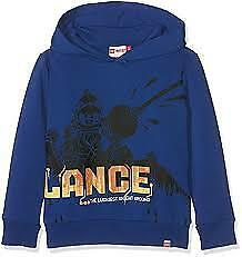 Lego Wear Boys Printed Hoodie / Blue Age 5 Years 110 cm New With Tags Free P&P