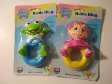 Jim Henson's Muppet Babies Rattle Runge Kermit Miss Piggy Remco Baby 1989