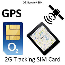 O2 2G GPS GSM Tracking Sim card, Child√ Car√ Pet√ CCTV√ For All Tracking devices