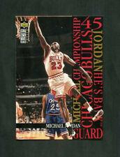 1995-96 Michael Jordan Upper Deck Collector's Choice He's Back #M5 Bulls