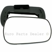 Right Driver Side WING DOOR MIRROR GLASS For Ford Fiesta 2002-2007 Clip On New