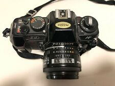 Nikon N2020 35mm Slr Film Camera w/ 50mm 1.8 Prime Lens & Speedlight Sb-22