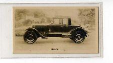 (Jb5139-100)  WILLS NZ,MOTOR CARS,BUICK,1926#36