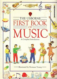 Usborne First Book of Music, Emma Danes, Paperback 1992 Homeschooling Home Study