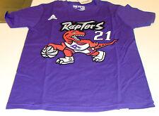 Toronto Raptors NBA T Shirt Youth Retro Purple Greivis Vasquez Age 14/16 Large