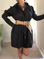 ANIMALE  Fashion Elegant Versatile Dress/ Top /Parka Size 6-7 - FREE belt