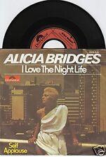 ALICIA BRIDGES I Love The Night Life 45/GER/PIC