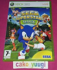 SEGA SUPERSTARS TENNIS XBOX 360 TRES BON ETAT VERSION FRANCAISE
