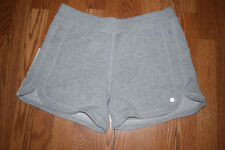 NWT Womens ACTIVE LIFE Gray Heather Knit Shorts Size XL