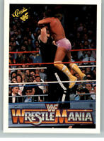 1990 Classic WWF WWE History of Wrestlemania #54 Macho Man Randy Savage