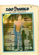 mick jagger alice cooper zoo world  1973