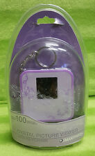 "2008 Smartparts Digital Picture Viewer 1.5"" With Travel Keychain Purple NIP New"