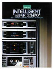 SANSUI - INTELLIGENT SUPER COMPO  CATALOG AÑOS 1980 - 1981