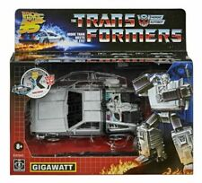 Transformers Back to the Future Exclusive 35th Anniversary Gigawatt Delorean Hot
