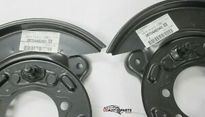 OEM 2000-2009 Subaru Rear Left & Right Brake Dust Shield SET Legacy Outback Baja