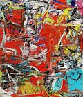 Composition Painting by Willem de Kooning Reproduction