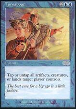 [1x] Turnabout [x1] Urza's Saga Near Mint, English -BFG- MTG Magic
