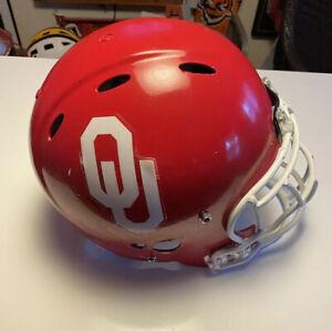 NCAA Oklahoma Sooners Replica Full Size Speed Football Helmet