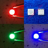 10pcs ~1000pcs RGB Red Green Blue Light Full Tri Color Bright LED SMD 5050 2220