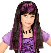 Peluca de Halloween Violeta para niños NUEVO - carnaval PELUCA PELO