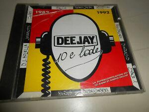 CD AUDIO MUSICA - DEE JAY 10 E LODE - 1982 1992