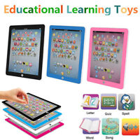 For Kids Children Tablet Baby IPAD Earlly Educational Digital Learning Toys