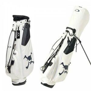 OAKLEY Golf Men's Caddy Bag Type 8 x 47 Inch 3.2kg SKULL STAND 14.0 FOS900214