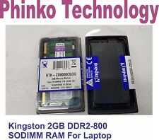 1X Kingston 2GB DDR2-800 KTH-ZD8000C6/2G PC2-6400  SODIMM Laptop RAM