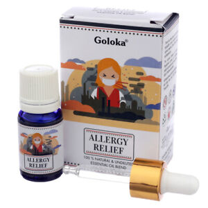 Goloka Blends Essential Oil 10ml  allergy relief aromatherapy