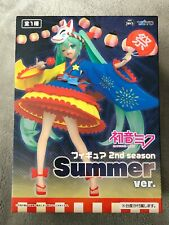 UK SELLER RARE Hatsune Miku Summer ver 2nd season figure Taito Toreba Japan NEW