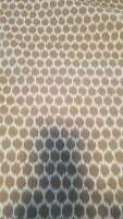 Animal spot beige canvas cotton Fabric by the yard