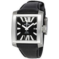 TW Steel CE3004 Goliath Black Leather Strap Date Men's Watch $475 ~ GREAT GIFT