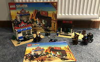 Vintage Lego Set 6765 Gold City Junction Western 100% Complete Boxed Instruction