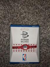 Authentic Power Balance Silicone Wristband - Chicago Bulls - Medium