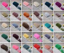 Beautiful Ostrich Feather Ribbon Cloth Trim 3.15 -6 Inches/8-15cm 1-10 Yards