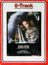 DIANA ROSS Eaten Alive   Produced by Barry Gibb   NEW SEALED 8 TRACK CARTRIDGE