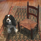 Antique early American ladder back childs chair rush seat all original c1800