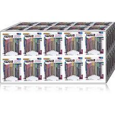 100 x GLITTER GLUE GEL PENS ART CRAFT SPARKLY COLOURED PENS