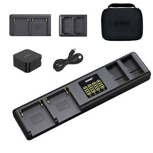 XTAR SN4 Multiple Battery Charger PD 45W Smart Adaptive Hub for NP-F970 +NP-FZ10