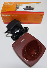 Siemens gigaset c34 Coque support ruby rouge original neuf emballage d'origine