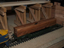 'SAW MILL' Sawn Timber Bundles (x4) for TRIANG HORNBY OO/HO Model Train Layout