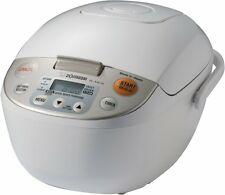 Zojirushi NL-AAC10 5.5 cups / 1.0 liter Micom Rice Cooker (Uncooked) and Warmer