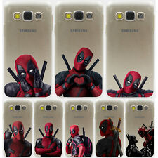 Coque Marvel Deadpool Comics Hard Case Samsung Galaxy S8 S A J All Huawei Honor