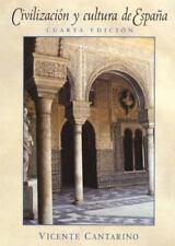 Civilizacin y cultura de Espaa 4th Edition