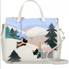 Radley London At Home In The Snow Leather Satchel