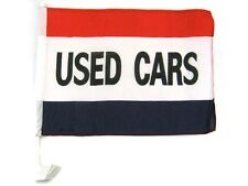 """12x18 Wholesale Lot 12 Used Cars Red White Blue Car Vehicle 12""""x18"""" Flag"""
