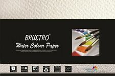 """Brustro Watercolour Papers 300 GSM 9"""" X 12"""" (Pack of 2) BRWC3090"""