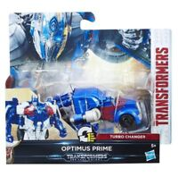 Transformers The Last Knight 1-Step Turbo Changer Optimus Prime Figure