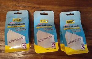 Lot of Three 4 packs of Tetra Whisper Filter Cartridges Extra Small